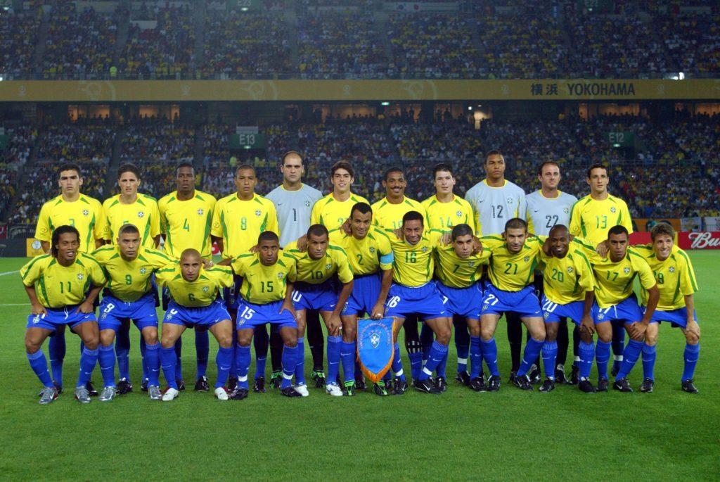 Seleção brasileira, pentacampeã mundial em 2002