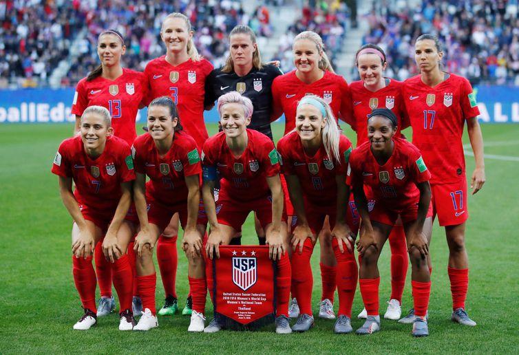 Seleção feminina Estados Unidos Copa 2019