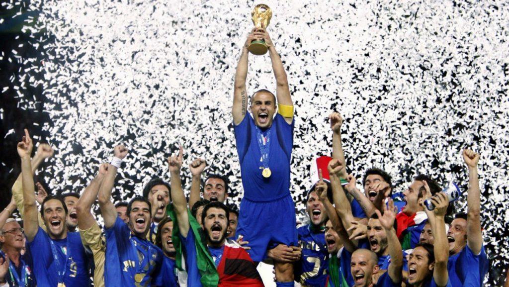Seleção Italiana, tetracampeã na Copa de 2006