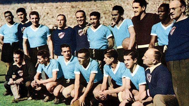 Seleção Uruguaia na Copa do Mundo de 1950