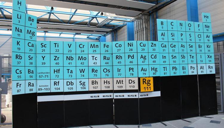 Apresentação do Roentgênio – Elemento Químico