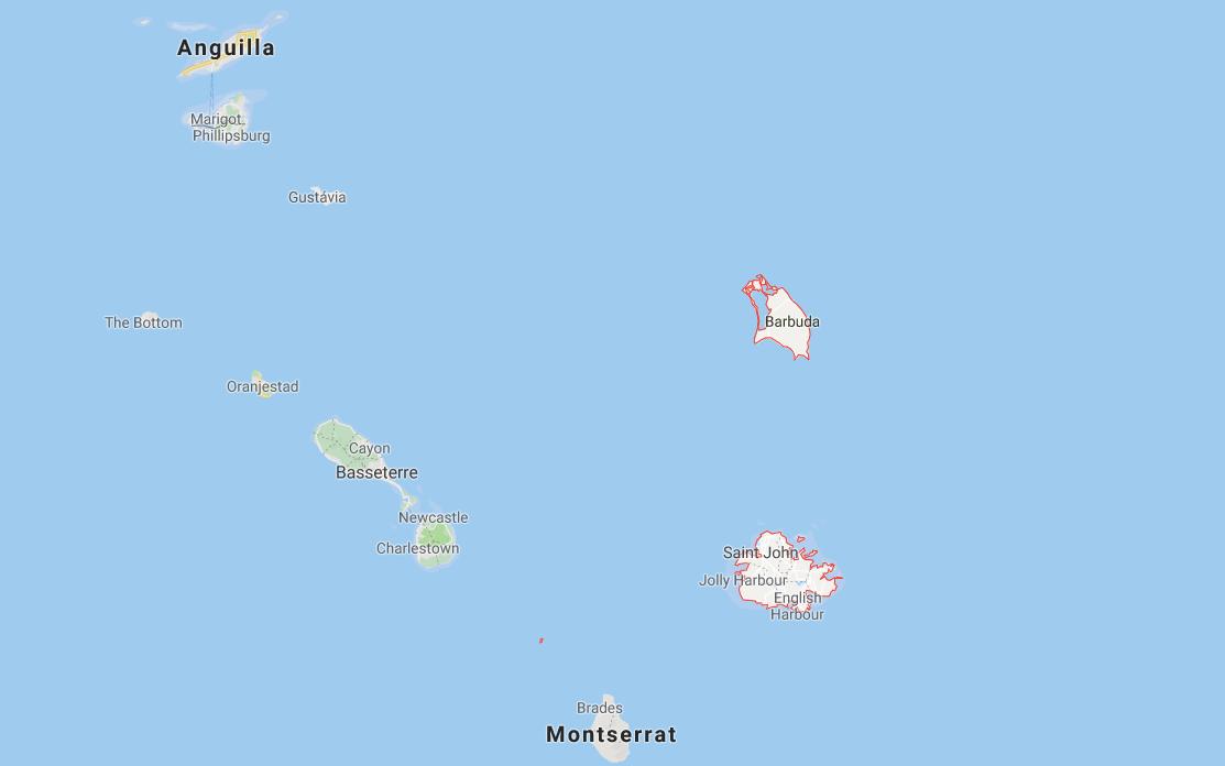 Antígua e Barbuda (América Central)
