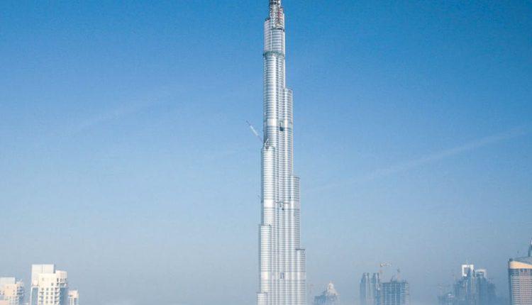 Burj Khalifa -O prédio mais alto do mundo