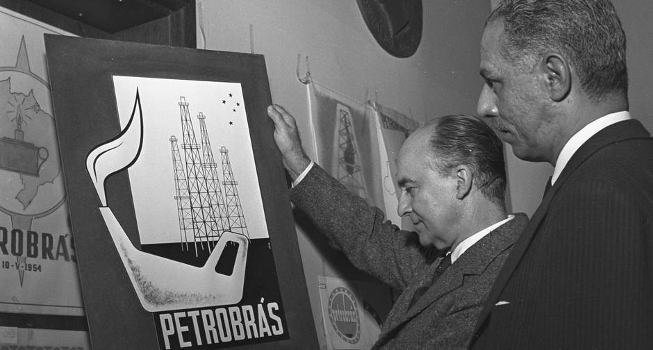 Criação da Petrobras durante o governo de Getúlio Vargas