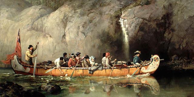 História da canoagem