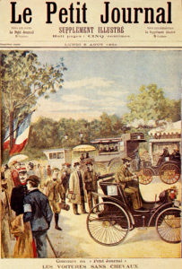 Capa do suplemento ilustrado do diário Le Petit Journal publicado em 6 de agosto de 1894.