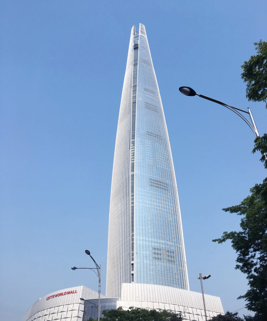 Lotte World Tower (Seul – Coreia do Sul )