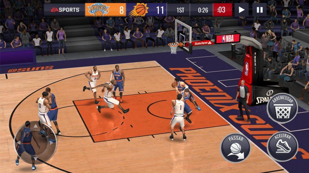 NBA Live Mobile Basquete