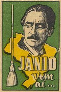 Propaganda da campanha de Jânio Quadros
