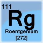 Roentgênio - Elemento Químico