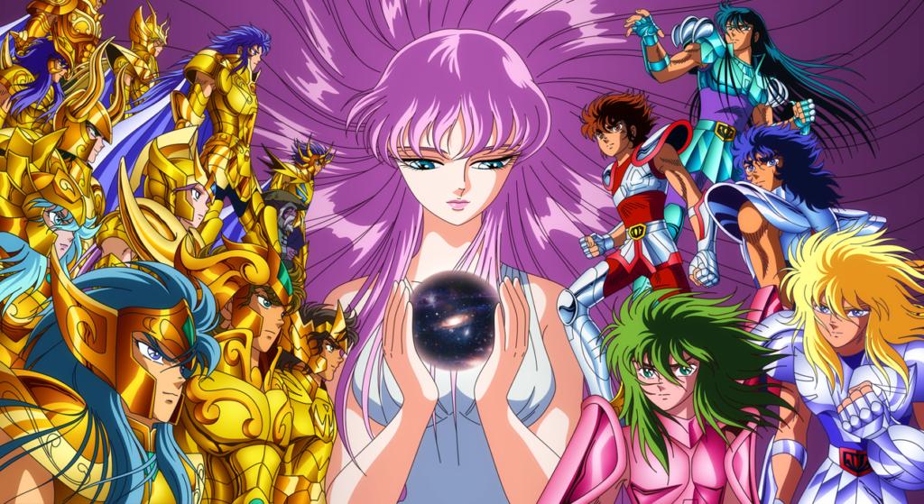 Os Cavaleiros do Zodíaco – Saint Seiya (1986 – 1989)