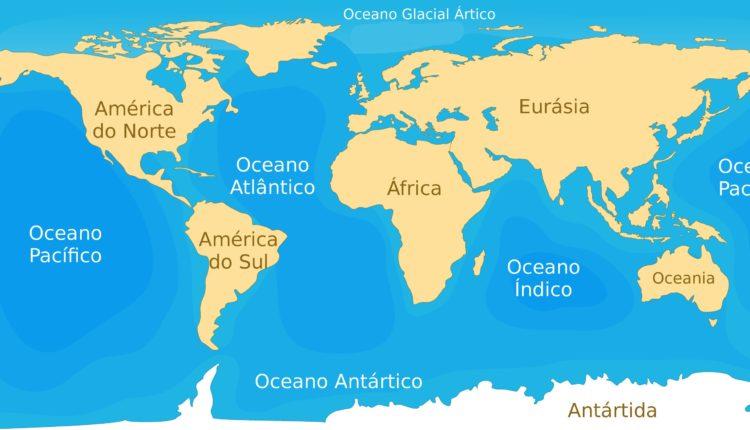 Plano de aula sobre continentes e oceanos