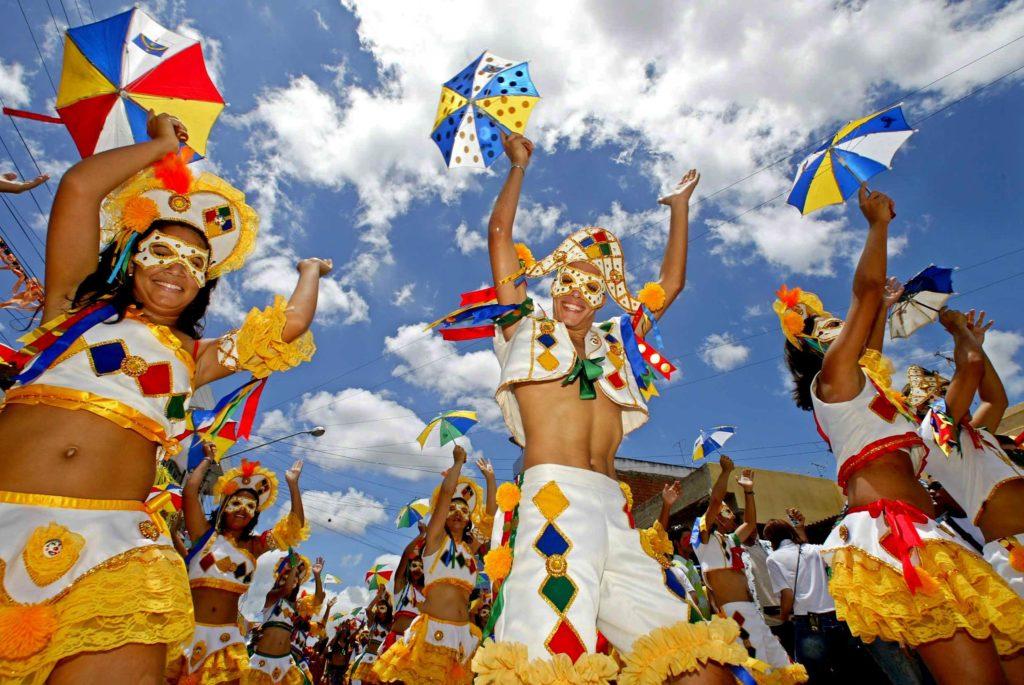 Danças populares brasileiras - frevo