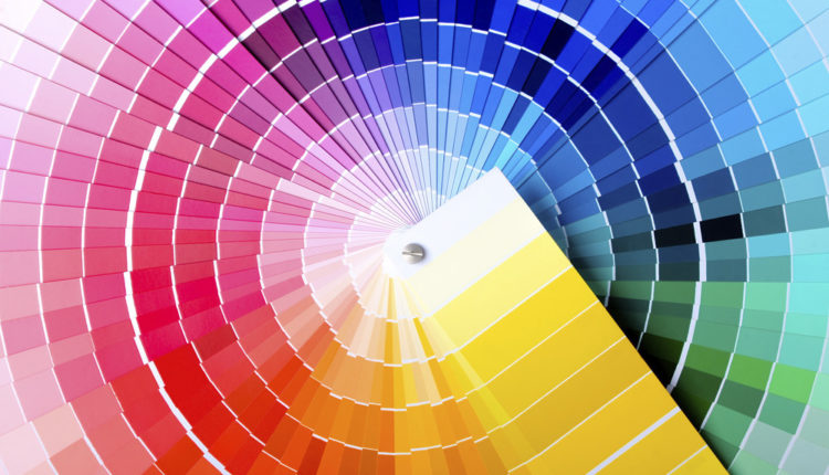 Emoções com cores