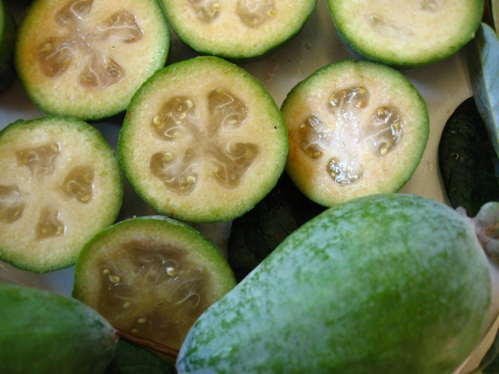 Fruta com F - Feijoa