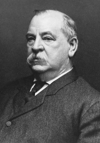 Grover Cleveland ( 1885 – 1889)