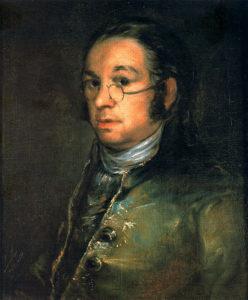 Francisco de Goya auto retrato