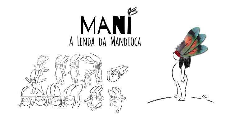 Lenda da Mandioca - Folclore