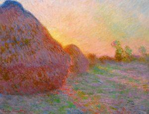 Meules, de Claude Monet – US$ 110,7 milhões (2019)