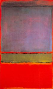 No. 6 (Violet, Green and Red), de Mark Rothko – US$ 186 milhões (2014)