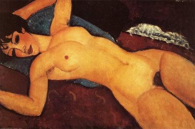 Nu Couché, de Amedeo Modigliani – US$ 170,4 milhões (2015)