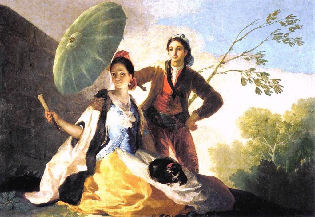 """O Guarda-sol"", Francisco de Goya"