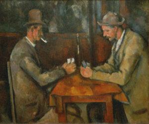 Os Jogadores de Cartas, de Paul Cézanne – US$ 250 milhões (2011)