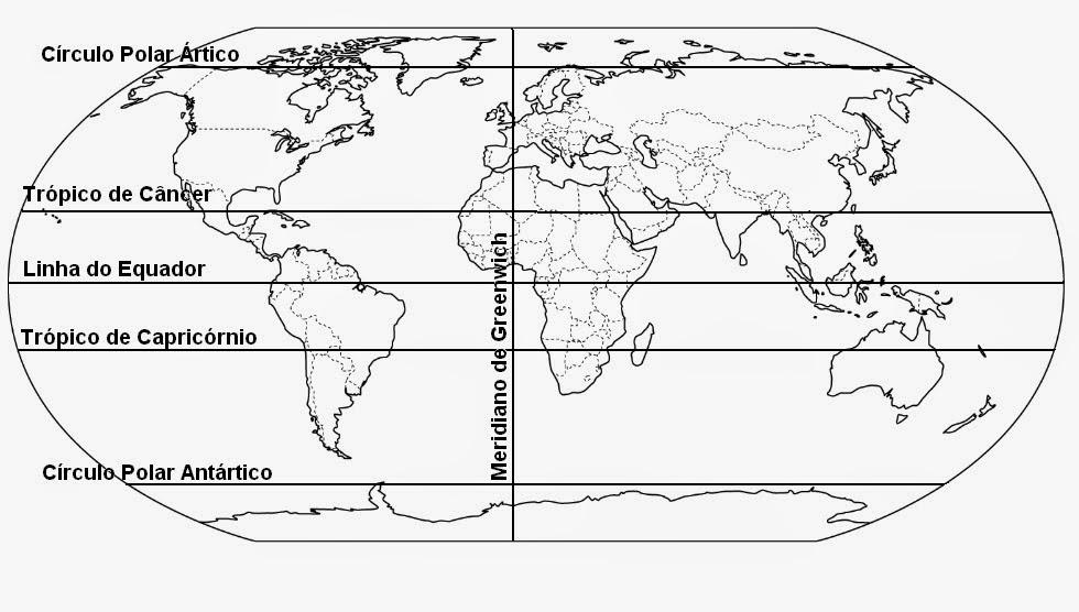 Atividades com mapa mundi 2