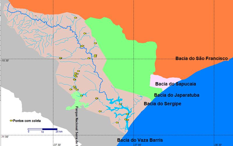 Bacias de Sergipe