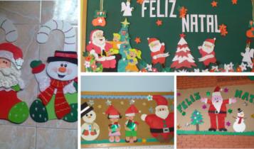 Decoração de Natal para escola