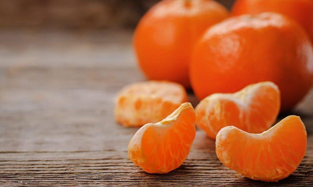 Fruta com T - Tangerina