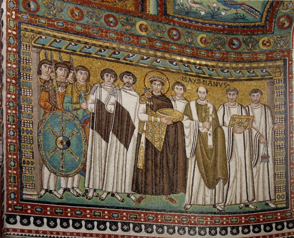 Arte Medieval: Mosaico Bizantino