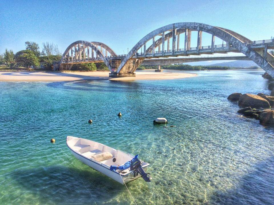 Ponte velha de Marambaia