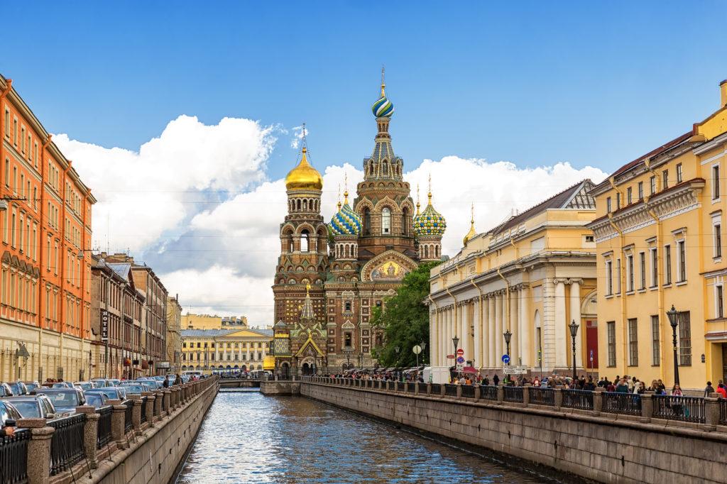 Centro histórico de São Petersburgo