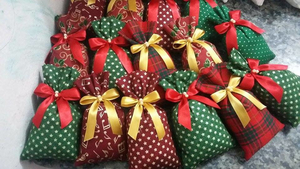 Lembrancinhas de natal feitas de feltro