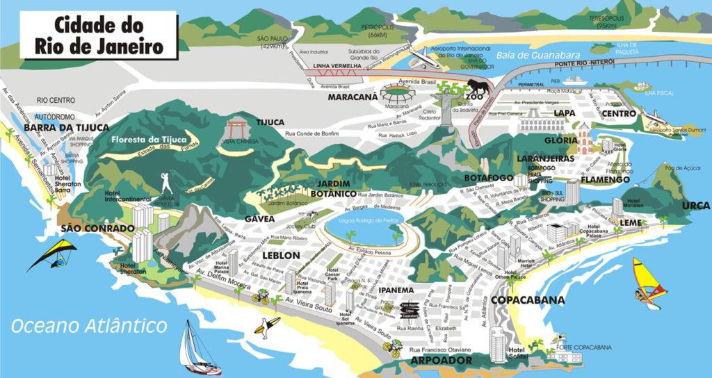 mapa cidade rio