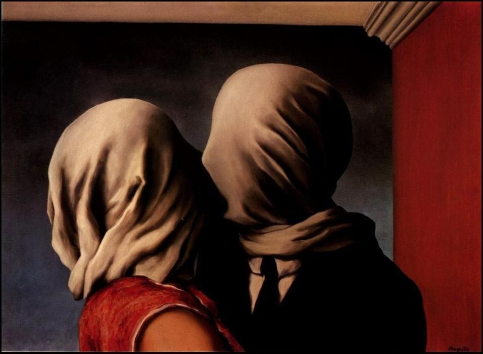 Os Amantes, René Magritte (1928)