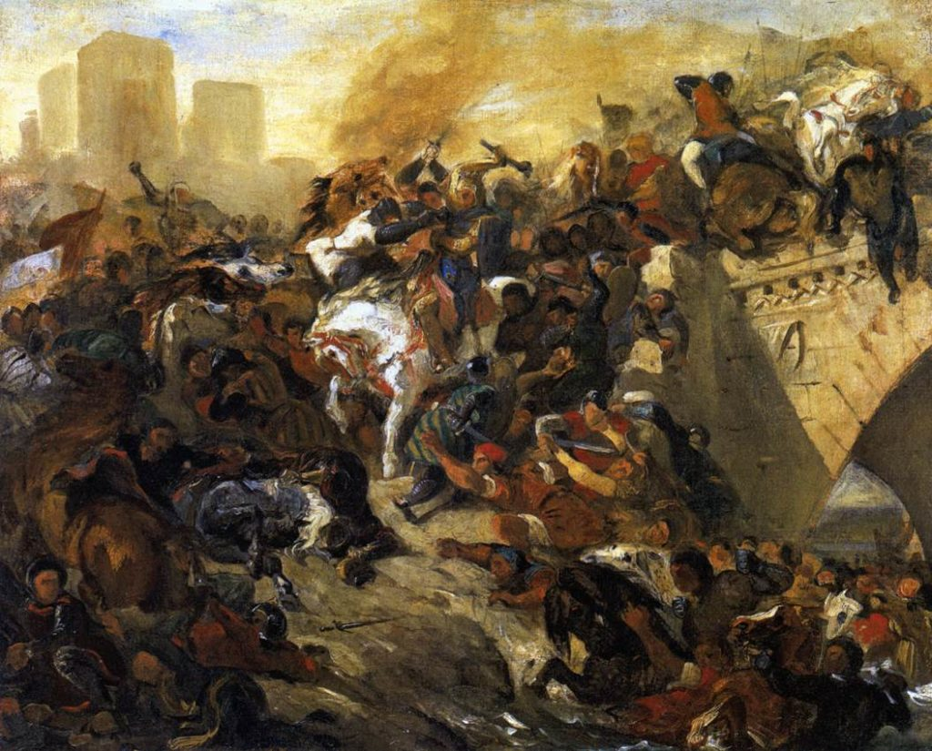 A Batalha de Taillebourgh (1837)