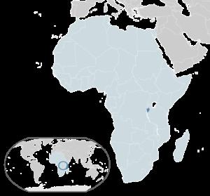 Burundi (17 pontos)