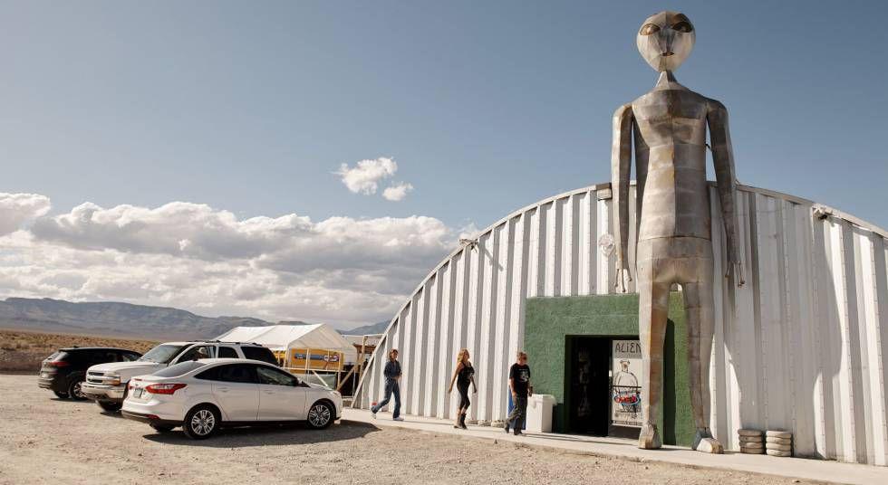 A presença de extraterrestres na Área 51