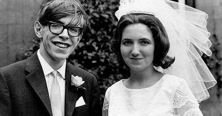 Stephen Hawking e Jane Wilde