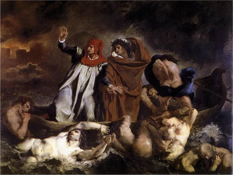A barca de Dante (1822)