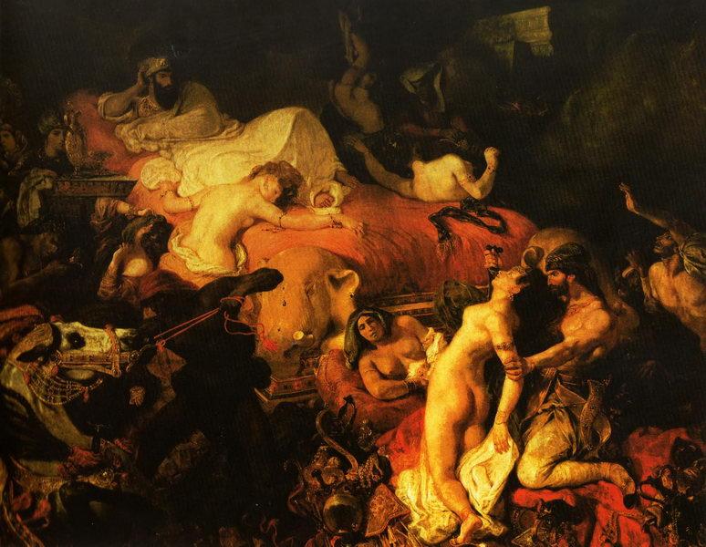 A Morte de Sardanápalo (1827)