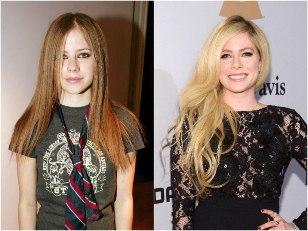 A cantora Avril Lavigne está morta