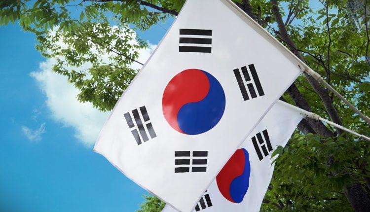 bandeira coreia do sul