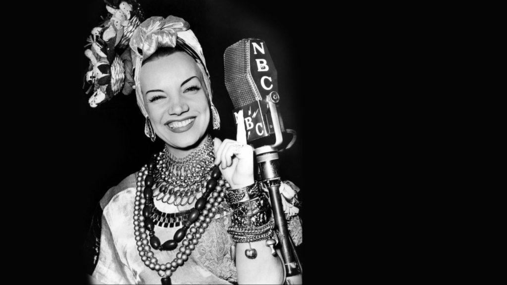 Carmen Miranda canta mamãe eu quero