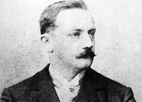 Charles Miller, considerado o pai do futebol no Brasil