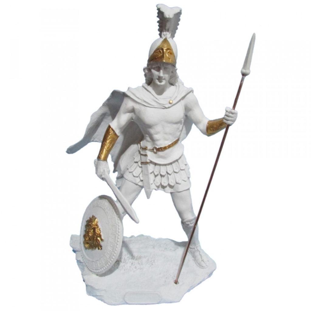 representação do deus marte
