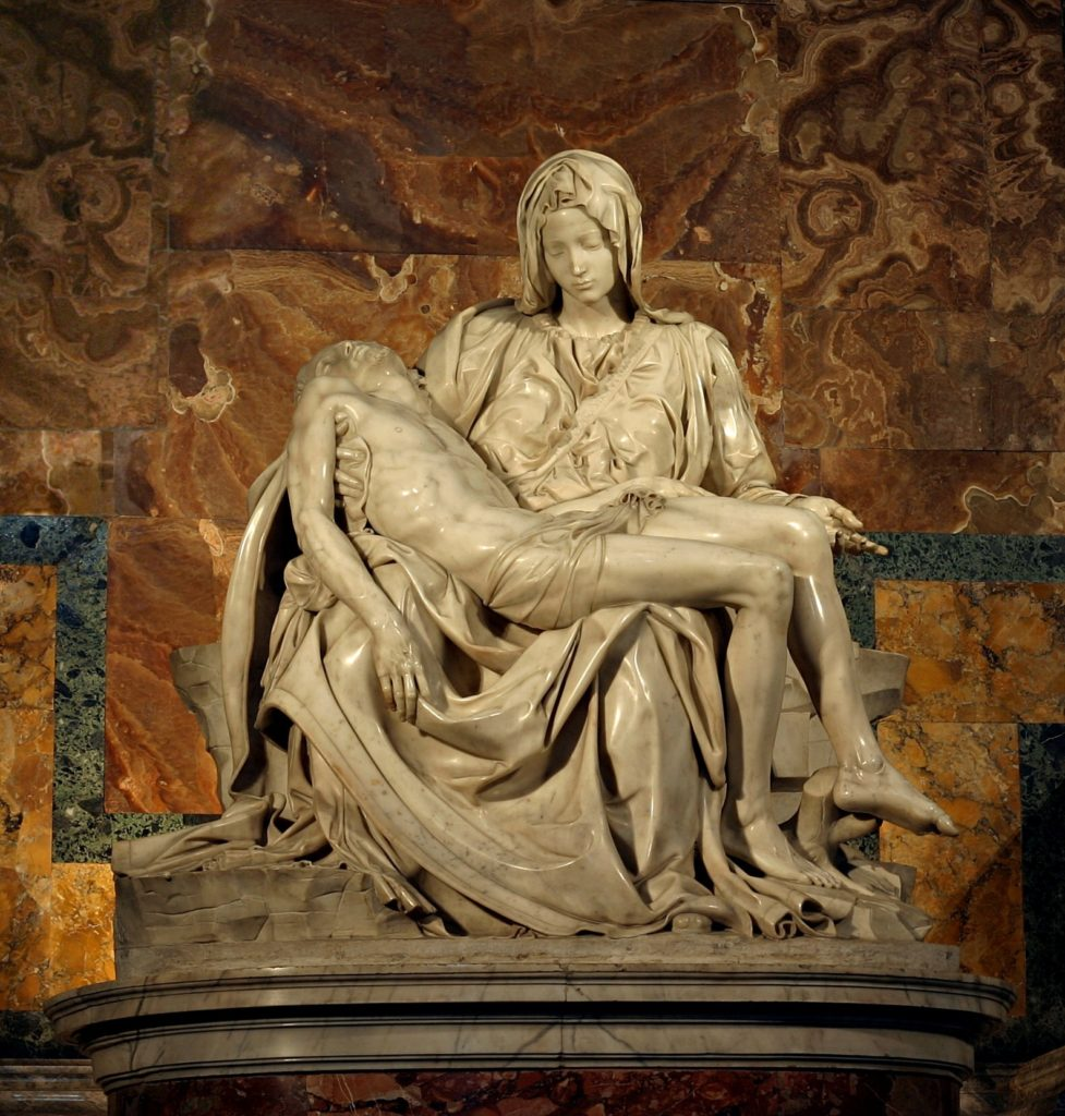 escultura renascimento pieta