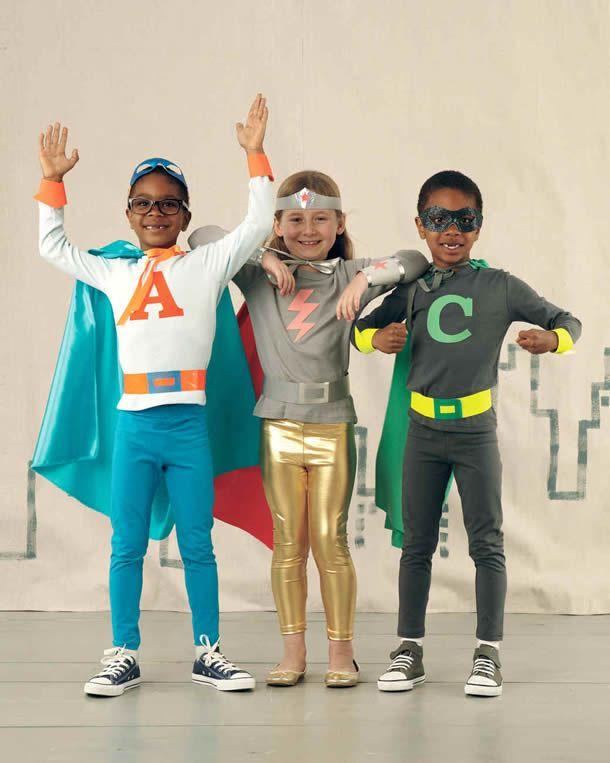 Fantasia de carnaval de super-heróis